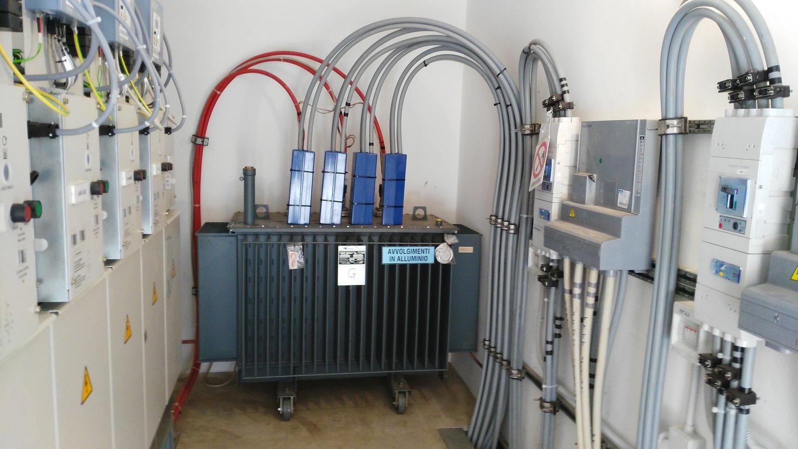 realizzazione cabine elettriche di trasformazione mt/bt